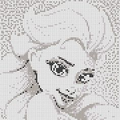 Elsa, Bead patterns and Perler bead patterns on Pinterest