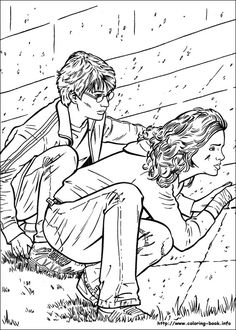 Harry Potter coloring pages 9 / Harry Potter / Kids