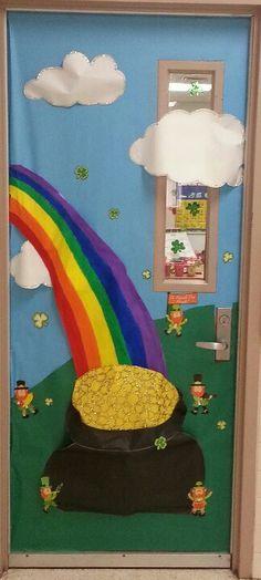 St. Patrick's day door!