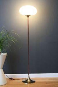 Brass Mid Century Danish Modern Arco Ball Floor Lamp ...