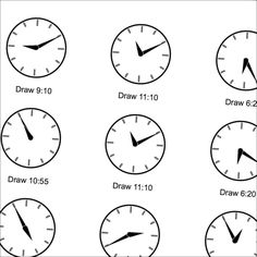 Worksheets, The times and Clock worksheets on Pinterest
