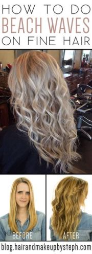 beach wave perm technique spiral