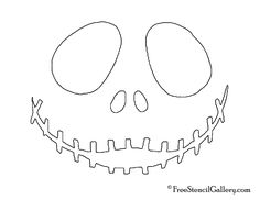 How to Draw Jack Skellington Easy, Step by Step
