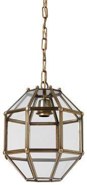 metal octagonal light fixture | Octagon white bronze ...