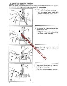 Singer Model 974 Sewing Machine Instruction Manual Singer