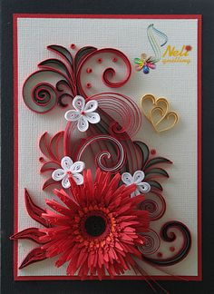 1000 Images About Quilling Cards Tags & Wedding