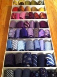 1000+ images about Organize ties on Pinterest