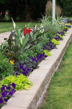 Long Narrow Flower Bed Design Ideas Pinteres