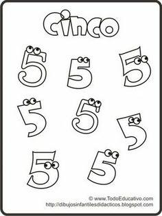 Aprendiendo los números. para niños con cálculo mental y