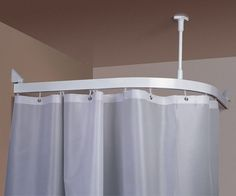 Canvas Curtains With Overhead Tracks Ceiling Mounted Curtain