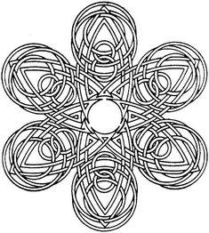 Mandala Coloring Pages 23 Printable PDF Blank Mandala by