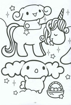 1000+ images about kawaii coloring pages on Pinterest
