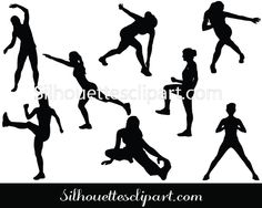 Women Sitting Silhouette Graphics Silhouette Graphics