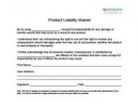 General Liability Waiver Form