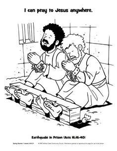 Jesus Appears to Mary Magdalene after Resurrection coloring page from Jesus Resurrection