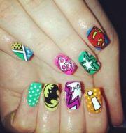 1000 ideas superhero nails