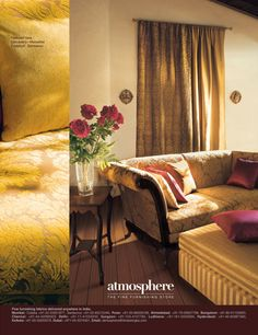 A Global Luxury Home Textile Brand Atmosphere Is Designed For The
