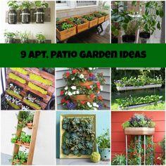 Top Ten Ways To Decorate A Small Apartment Garden Gardens