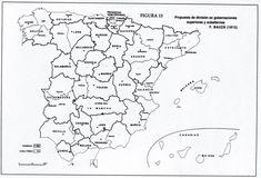 Mapa interactivo de España Comunidades Autónomas. Puzzle