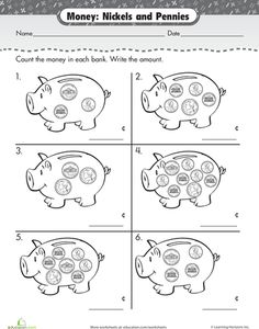 1000+ images about Counting Money Worksheets on Pinterest