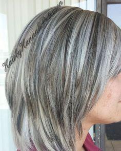 brown low lights hair pinterest gray hair cover gray hair hair beauty pinterest