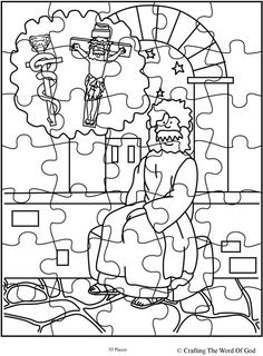 John 3 Nicodemus Bible Sunday School Coloring Pages: Your