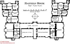 Layout of Hampton Court Palace in Charles II's time