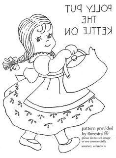 1000+ images about Embroidery-Nursery rhymes on Pinterest