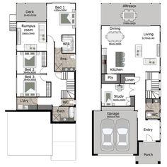 Small Lot Homes Narrow Block Designs Brisbane Modern