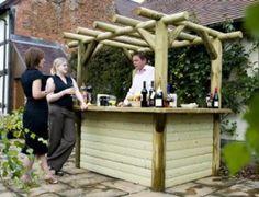 Outdoor Bar With Storage Patio Outdoor Pinterest Gardens