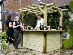 Garden Bar Design Ideas