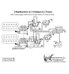 2 Humbuckers Coil Split Wiring Diagram Humbucker Split