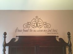 master bedroom wall decals - interior design