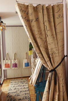 Hessian Curtains Google Search Home Decor Pinterest