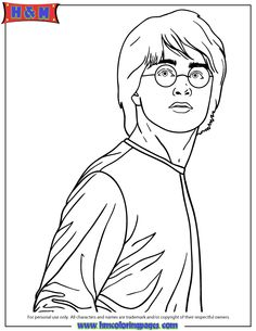 Coloring Pages Harry Potter Quidditch (Cartoons > Harry