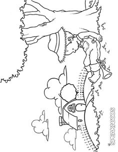 Mary, Mary, Contrary Nursery Rhyme coloring pages