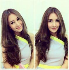 Thai Actress #noon #woranuch I LIKE LONG HAIR Pinterest