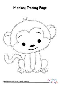 Monkey Gone Bananas Coloring Page : Printables for Kids