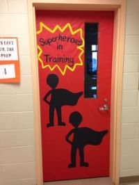 1000+ images about Classroom Superhero Door Decorations on ...