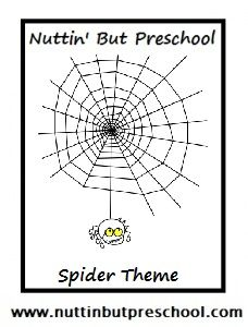 1000+ images about preschool spider theme on Pinterest