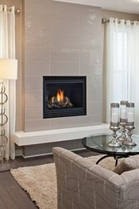1000+ images about Fireplace with No Mantle on Pinterest ...