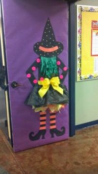 Wicked witch, Classroom door and Wicked on Pinterest