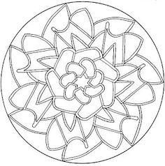 1000+ images about uncolored mandalas on Pinterest
