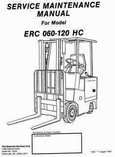 Yale Reach Truck D849 Series: MR14, MR16(N, HD), MR20(HD