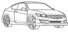 Honda odyssey, Honda and Coloring pages on Pinterest