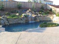 Pools Built into Hillsides