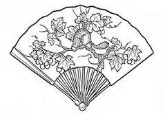 1000+ images about Fans Parchment Patterns (Free) on