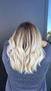 hair color bleach blonde