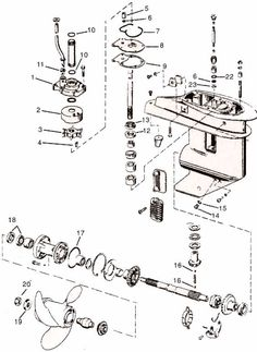 MarineEngine.com 1980 johnson 35 hp parts list/diagrams