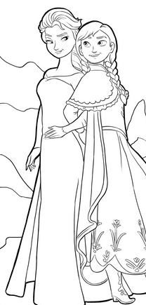 FREE Disney's Frozen Coloring Pages!
